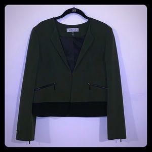 Kasper Dark Green Blazer